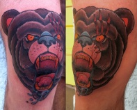 bear knee