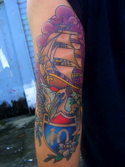 Randy muller lll eyecandy tattoo new orleans for Tattoo artists in new orleans