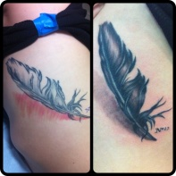 feather fix up