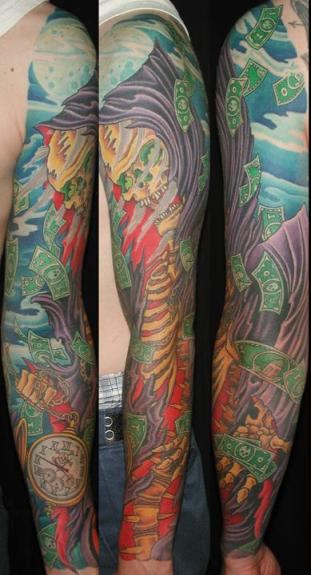 jeremy justice eyecandy tattoo new orleans